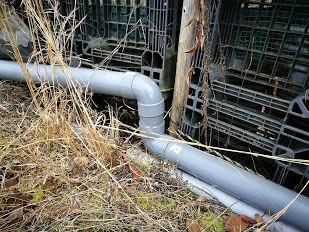 0120田んぼ排水管外れ修正