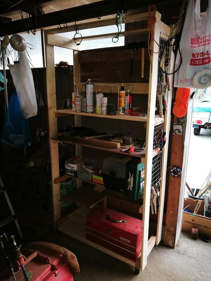 0325工具棚ほぼ完成