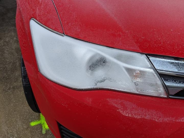 1130車の霜