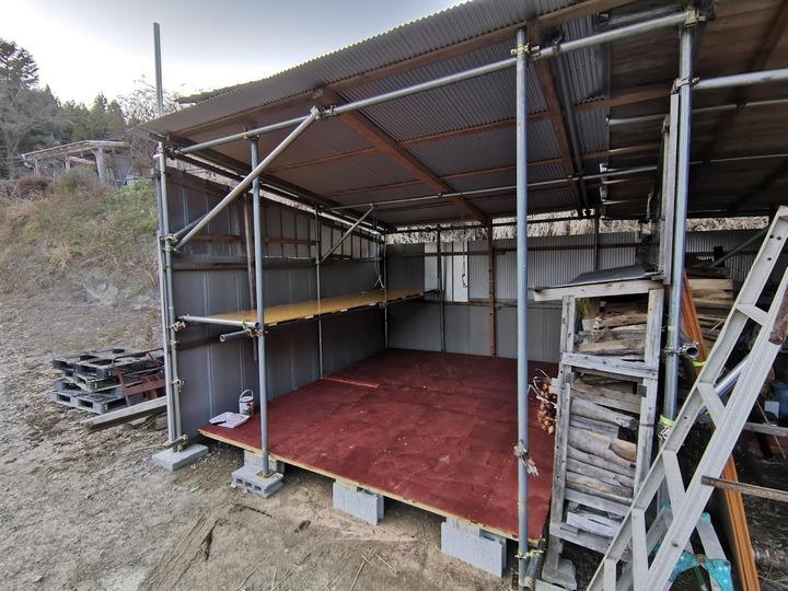 0212床設置工事完了