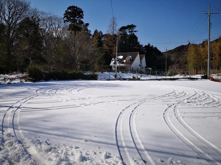 0125雪道練習