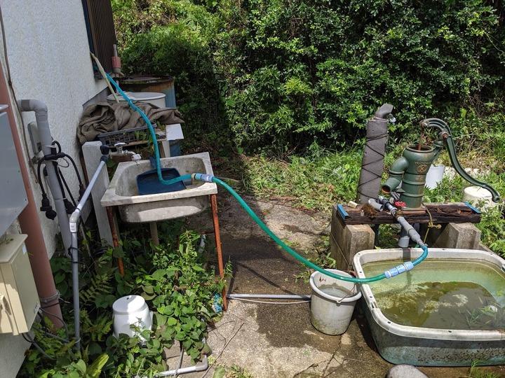 0910井戸からの補水1