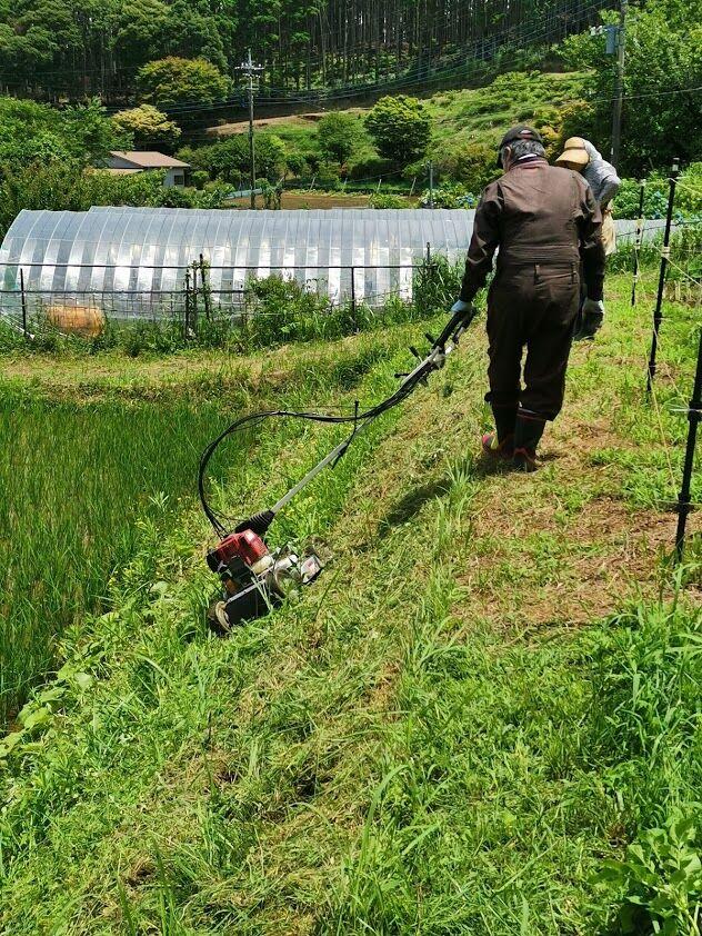 0617草刈機デモ