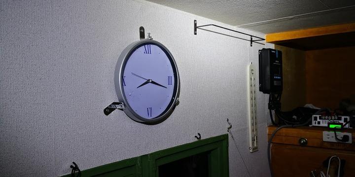 0112時計と温度計