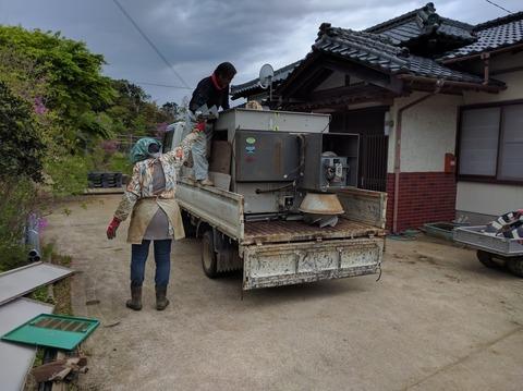 0429乾燥機を処分2.JPG