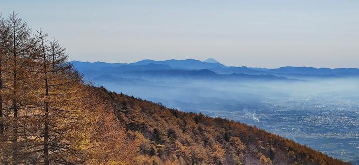 1031高峰高原からの富士山