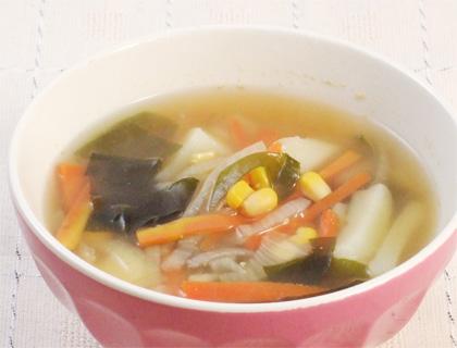 わかめ スープ 玉ねぎ