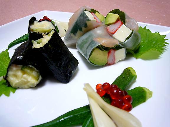 ポテサラのリメイク→ごま油と塩で韓国風?
