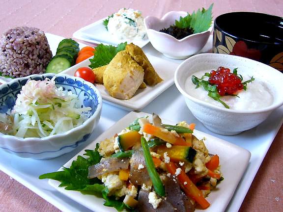 7月27日の早めの夕食→ひとりご飯