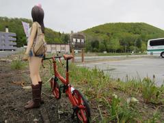 自転車と女の子_01