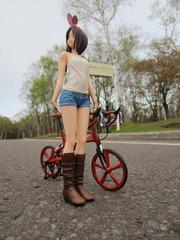 自転車と女の子_06