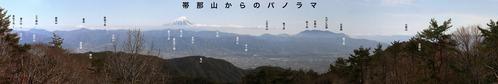 10 帯那山からのパノラマ