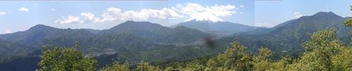 1 高川山山頂からのパノラマ