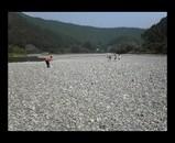 アドプト海部川 清掃