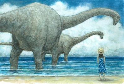 恐竜の居た夏