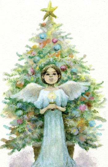 ツリーと天使001