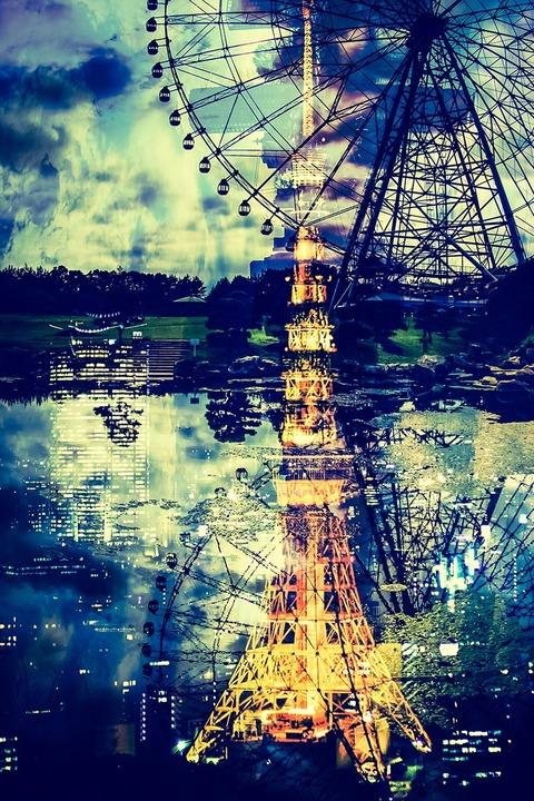 ブログ用 東京タワー