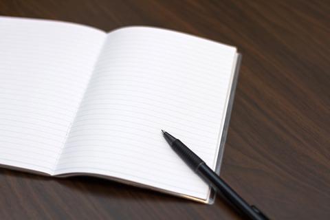 ブログ用 ペンとノート