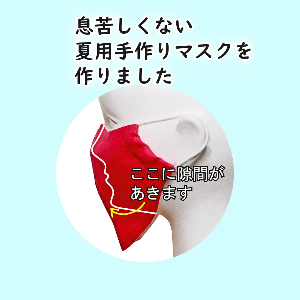 マスク 手 っ 型紙 くり