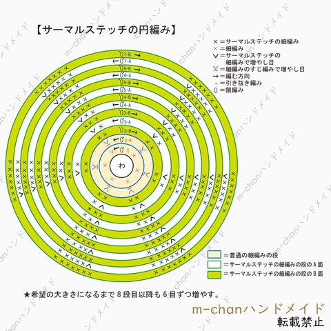 ブログサーマル編み図001