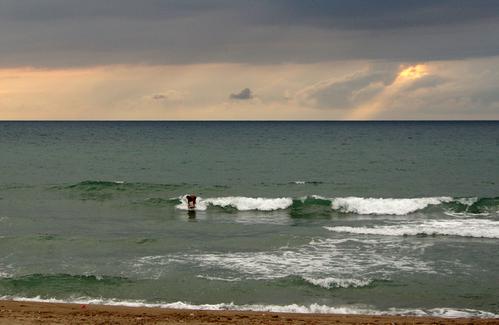 海はひろいーなー