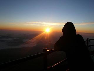 ご来光 富士山ホテル前
