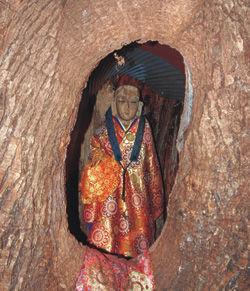生木地蔵1
