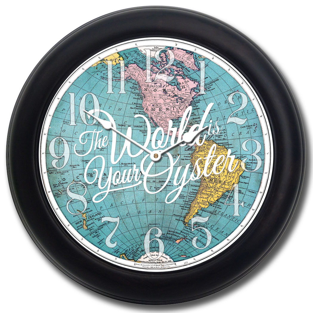 The-World-is-Your-Oyster-Map-Clock-blk-frm