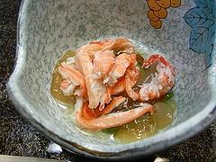 ズワイガニとクラゲの酢の物