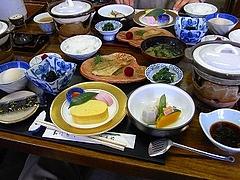 菊香荘 朝食