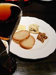 チーズと食後酒