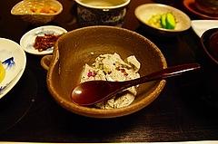 胡麻入り豆腐