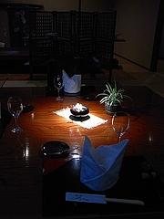 仏蘭西割烹わたすげ テーブル