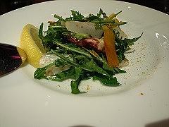 アオリイカとカラスミのサルディーニャ風サラダ