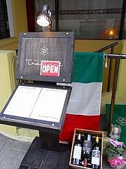 リストランテ・トレマーニ入り口