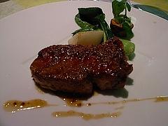 イベリコ豚のマスタードソース