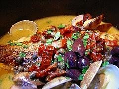本日の鮮魚のアクアパッツァ