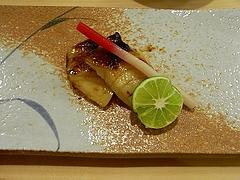 金時鯛の西京焼き