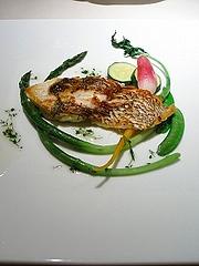 真鯛の香草焼き