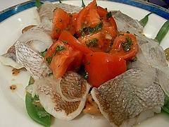 子鯛の酢漬け サラダ仕立て