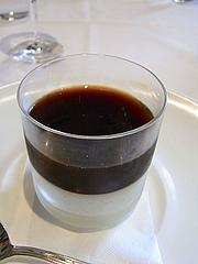 パンナコッタとコーヒーゼリー