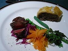 カモシカのステーキ・ミンチのアンクルート