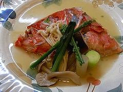 金目鯛のスープ仕立て