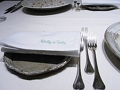 テーブル@エルミタージュ・ドゥ・タムラ