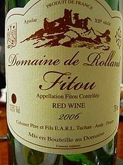 フィトウ ドメーヌ・ド・ロラン 2006