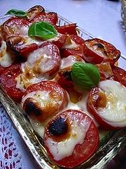 サンマルツァーノのチーズ焼き