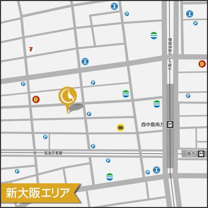 隠れ家_新大阪マップ