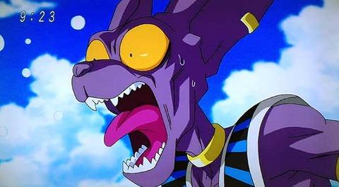 【悲報】ドラゴンボール超、ビルスすら雑魚になる・・・。