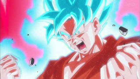 超サイヤ人ブルー状態の10倍界王拳って・・・。