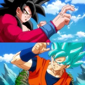 「超サイヤ人4」と「超サイヤ人ブルー」ってどっちの方が強いの?